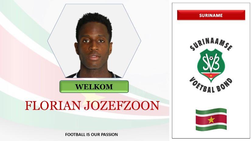 Welkom Florian Jozefzoon