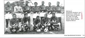 legende K. Kluivert SVB team 1964