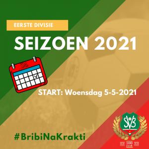 SVB start 2021 1st div